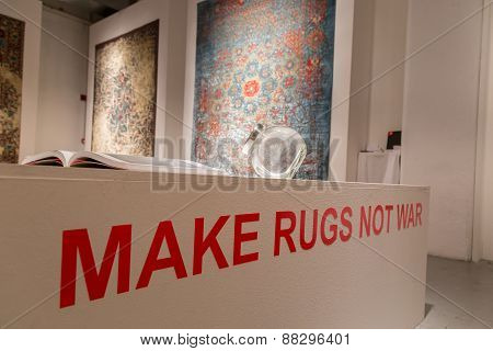 Rugs On Display At Fuorisalone During Milan Design Week 2015