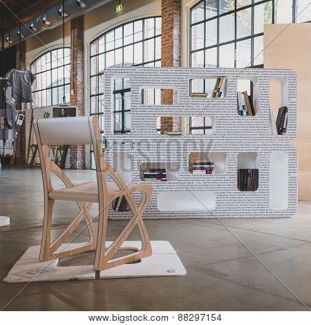 Furniture On Dispaly At Fuorisalone During Milan Design Week 2015