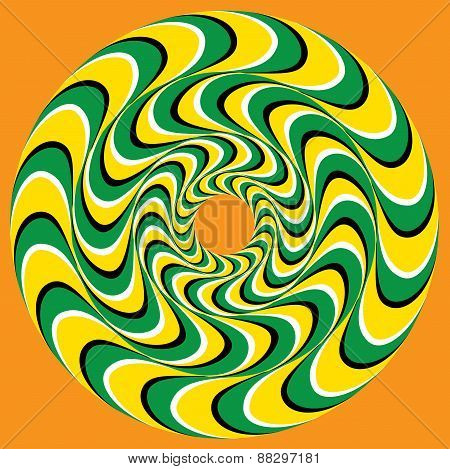 Hypnotic Swirly Sphere