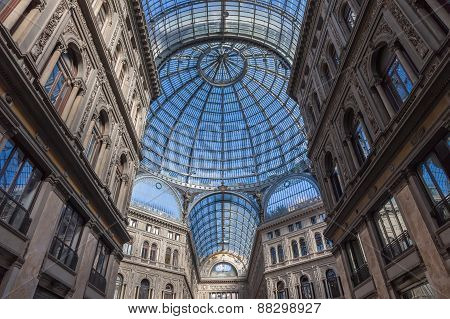 Galleria Umberto I In Naples, Italy