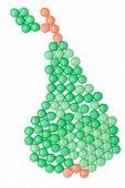 picture of paracetamol  - Pear of vitamins - JPG