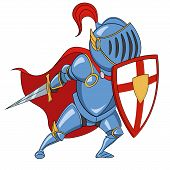 picture of valiant  - Knight with shield - JPG