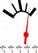 image of indications  - Generic dial gauge guage - JPG