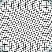 picture of grating  - Black and white abstract grid grating pattern - JPG