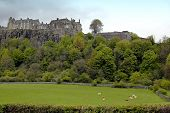 stock photo of william wallace  - The impressive stirling castle - JPG