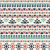 picture of geometric  - Ethnic seamless pattern - JPG
