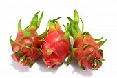 stock photo of dragon fruit  - Dragon fruit for eating as a snack - JPG