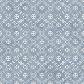 stock photo of maltese  - Pale Blue and White Maltese Cross Symbol Tile Pattern Repeat Background that is seamless and repeats - JPG