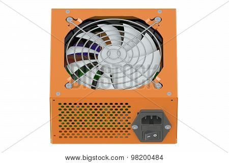 Orange Power Supply Unit