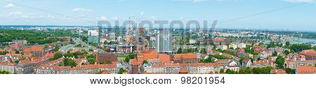 City Of Gdansk Panorama.