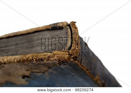 Spine Of An Old Book