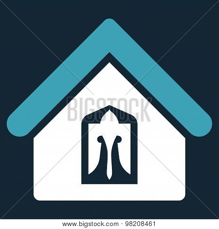 Home icon from Business Bicolor Set