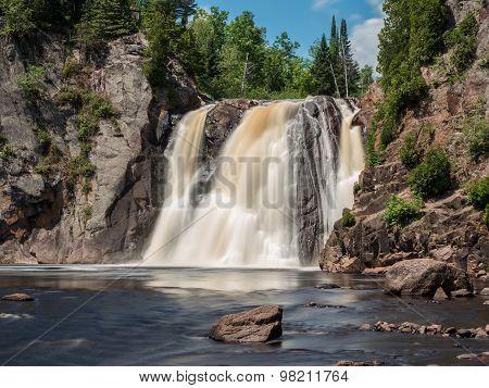 High Falls Of Baptism River 3