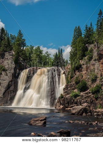 High Falls Of Baptism River 2