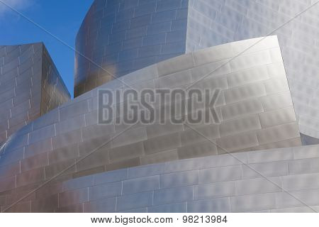 LOS ANGELES - JULY 26: Walt Disney Concert Hall in downtown Los Angeles on July 26, 2015 design by a