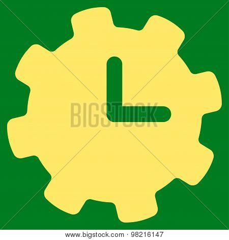 Time Settings icon from Business Bicolor Set