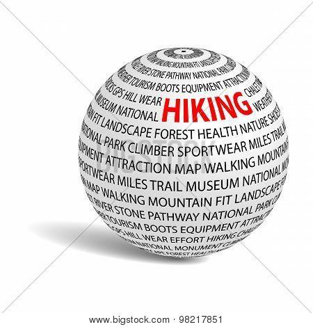 Hiking Word Ball