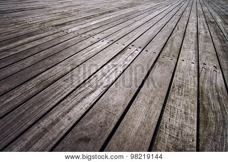 Boardwalk In Perspective