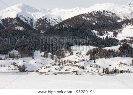 Mountain Scene, Northern Italy