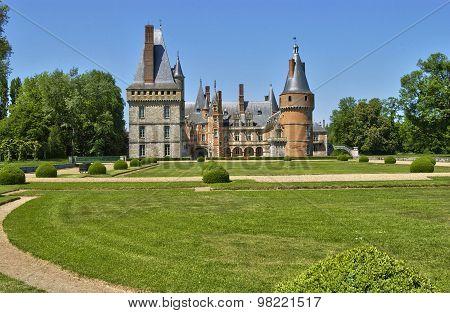 Castle Of Maintenon In Eure Et Loir