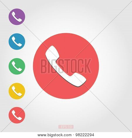 Simple telephone sign
