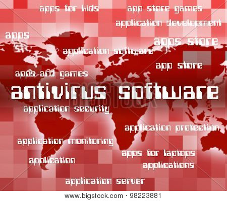 Antivirus Software Indicates Programs Unsecured And Spyware