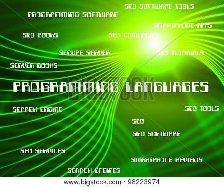 Programming Languages Represents Software Development And Foreign