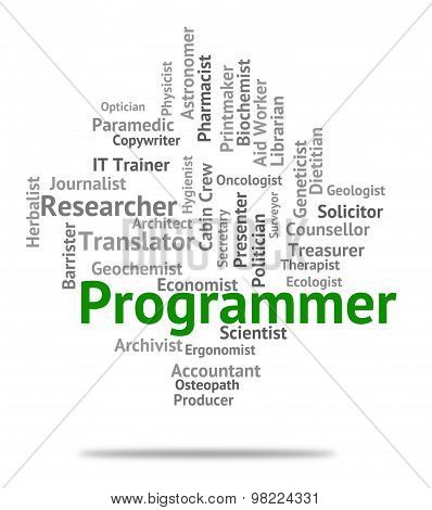 Programmer Job Shows Recruitment Jobs And Hiring