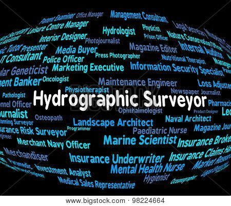 Hydrographic Surveyor Represents Hiring Maritime And Career
