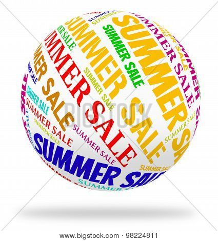 Summer Sale Means Hot Weather And Bargain