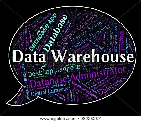 Data Warehouse Represents Facts Fact And Information
