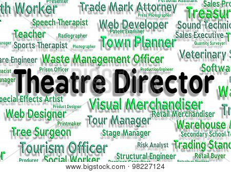 Theatre Director Means Overseer Jobs And Occupations