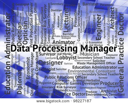 Data Processing Manager Means Head Recruitment And Facts