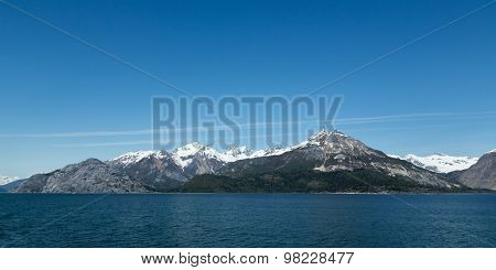Mountains in Glacier Bay