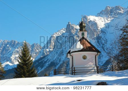 St. Mary Chapel In The Alps