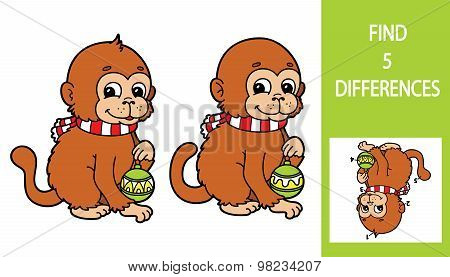 Find differencesmonkey