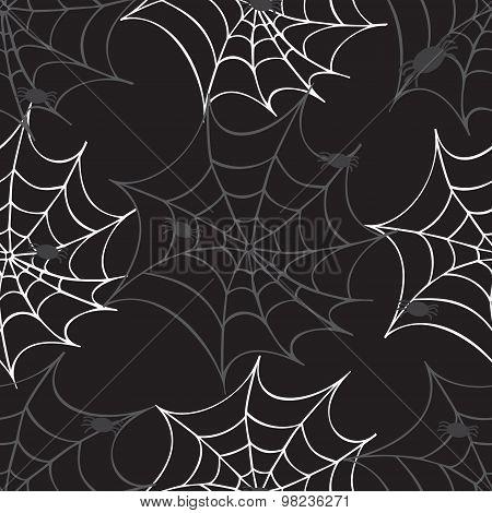 Cobweb Seamless Pattern