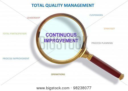 Continuous Improvement And Total Quality Management Methodology