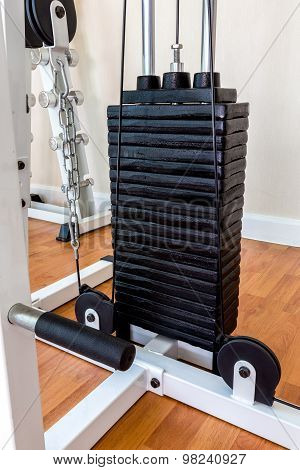 Iron Plates of Weight Lifting Equipment  / Plates of Weight Lifting Machine