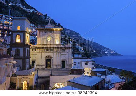 The Church Of Santa Maria Assunta, Positano, Italy