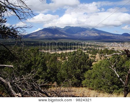 San Francisco Peaks em Flagstaff, Arizona