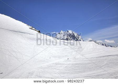 Dombay. Ski Slope