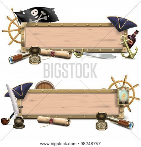 Vector Pirate Billboards