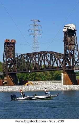 Fishing Under the Bridge 4
