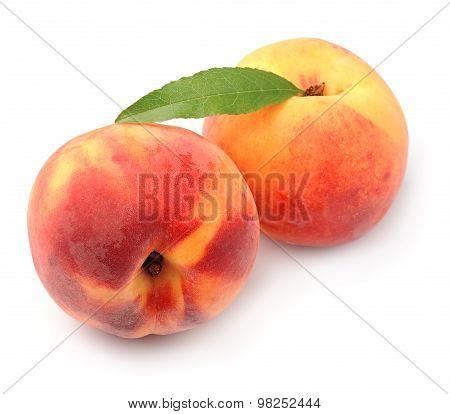 Ripe Peach Fruits