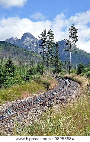 mountain railway, Slovakia, Europe