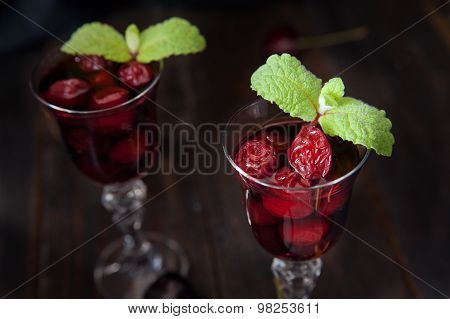 Strong Alcohol Cherry Liqueur