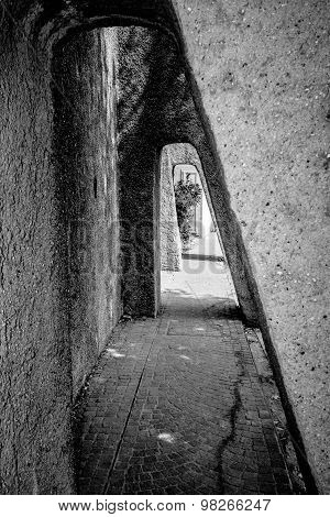 Stone Passage In Tunnel Form, Sirmione