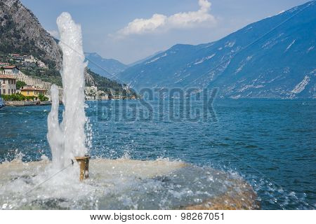 Limone Sul Garda,lake Lago Di Garda,..