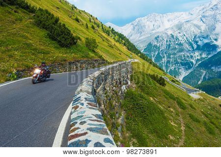Alpine Road Biker